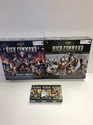 Warmachine Hordes High Command Board Game Bundle