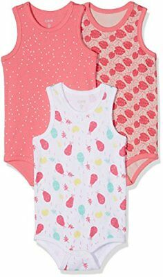 Care Unisex Baby Kurzarm-Body im 3er Pack