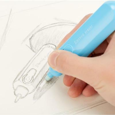 Pencil Electric Eraser for Lazy Writing Drawing Child Automatic Primary School