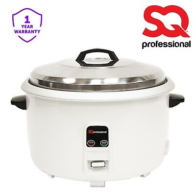 20 CUPS/3.6L Non Stick Automatic Electric Rice Cooker Pot Warmer Steel Lid 1350W