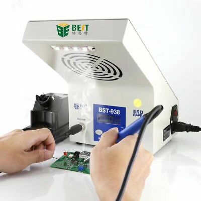 Intelligent Temperature Soldering Station Smoking Machine