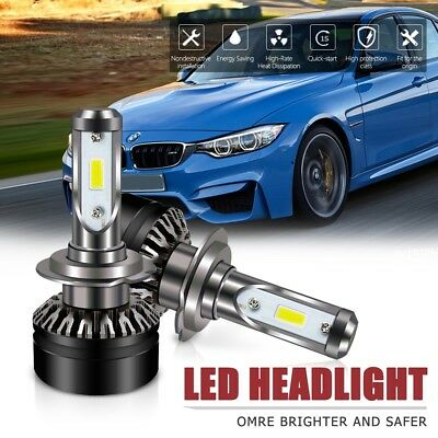 H7 Led Headlight 6500K6000LM DOT Approved All-in-One Conversion Kit For Hyundai
