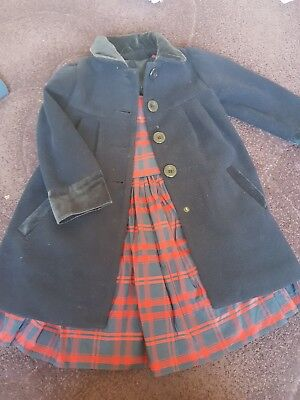 Beautiful Girls Dress And Coat ...jasper conran dress and lovely navy coat