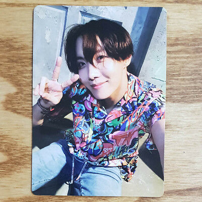 J Hope Official Photocard BTS Army Bomb ver3 Light Stick Kpop Geunine