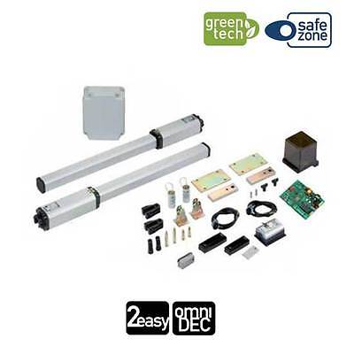 KIT LEADER FAAC Automation swing 1,8M 230V SAFE AND GREEN