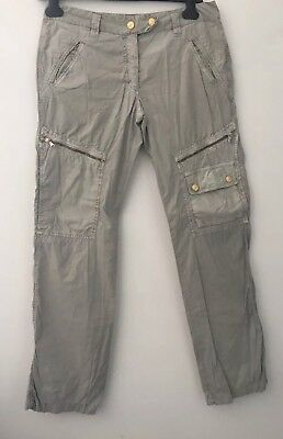 Cargo Treasure light beige canvas Dolce&Gabbana Vintage Pantalone Uomo