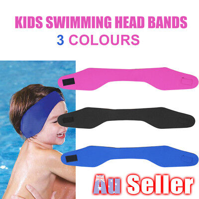 Children's Swimming Ear Head Band Neoprene Wetsuit Head Bands Swim