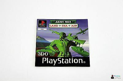 Playstation PS1 - ARMY MEN: LAND SEA AIR - Spielanleitung Manual Booklet