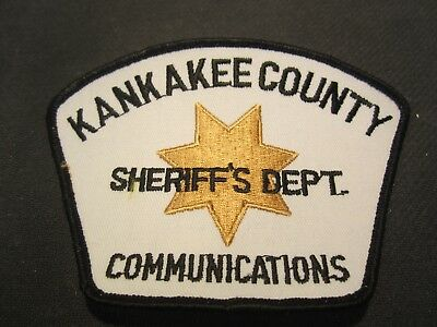 Kankakee County Il Sheriff's Communications  Patch
