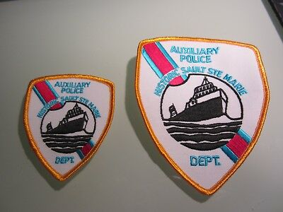 Sault Ste Marie Aux. Police Patch Set