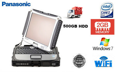 Panasonic Toughbook Rugged Touchscreen Tablet/Laptop CF19 MK3@1.20GHZ 2GB 500GB