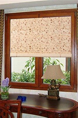 Bamboo Reed Blinds Indoor Outdoor Roll Up Shade Patio Window Porch