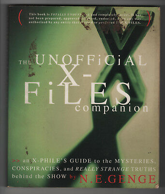 The Unofficial X-Files Companion, The X-Files, UFO, Paranormal ESP, Area-51 Book
