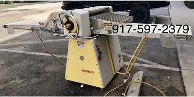 Rondo Sso 68 Bakery Reversible Dough Baking Sheeter Roller