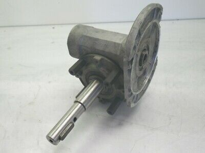 VF 49 A Bonfiglioli Gearbox Speed Reducer Worm Gear 0.75hp r:1=7(Used Tested)