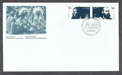 Canada FDC - 1986 - Peacemakers, Scott # 1109a