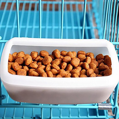 Small Dog Food Container Water Feeder Bin Double Use Bowl Pet Supplies