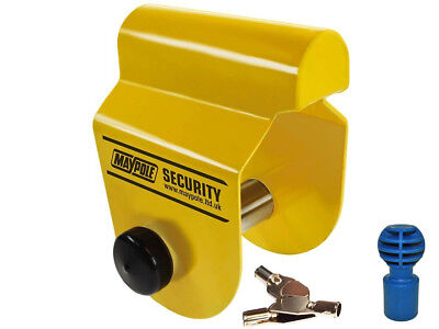 Maypole Caravan Insurance APPROVED Alko Hitch lock with Security Hitch Ball
