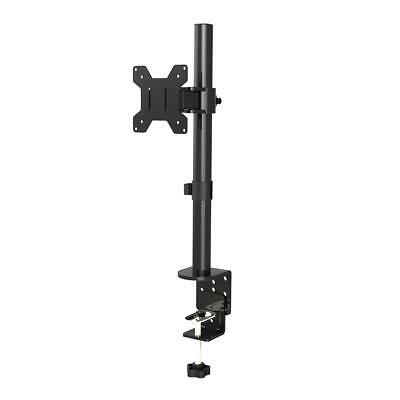 "Fully Adjustable Single Arm LCD LED Monitor Stand Desk Mount Bracket for 13""-27"