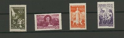 Stamps Romania 1947, Social Assistance Fund ,Set of 4 values MNH