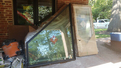 New Marvin Integrity Trapezoid Windows they come as a pair