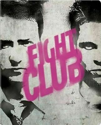 Fight Club - Limited Edition Steelbook [Blu-ray] New and Factory Sealed!! Rare!!