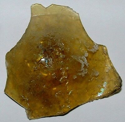 ancient roman glass fragment with very lovely patina amazing....