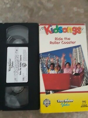 Kidsongs Ride The Roller Coaster View Master Vhs Warner Brothers