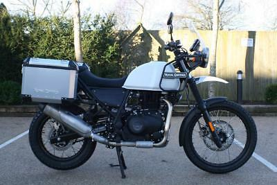 Royal Enfield Himalayan Snow 411Cc Single Himalayan In White And In Stock Now