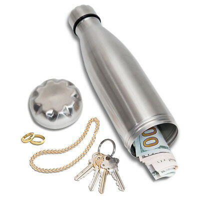 Diversion Water Bottle Can Safe | Stainless Steel Tumbler Safe by Stash-it | Bo
