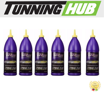 Royal Purple Gear Oil Max-Gear Synthetic 75W90 - 01300  6-Quarts