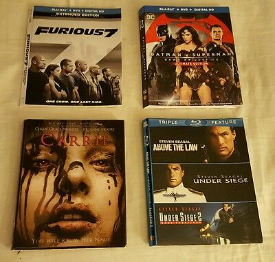 Blu Ray Slipcovers ONLY NO BLU-RAY, DVD OR CASE .