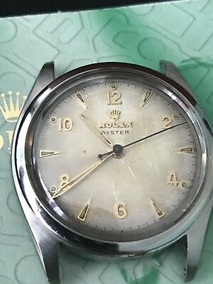 VINTAGE ROLEX OYSTER TROPICAL DIAL Double Ref# 6022/4365 SERVICED RARE With Box!