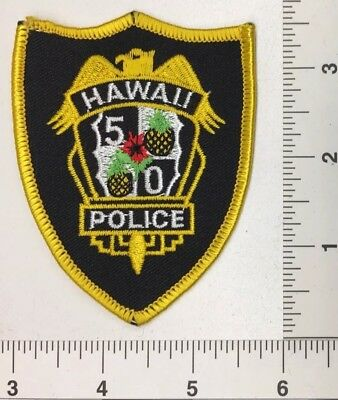 Vintage Hawaii 5-0 Police Patch