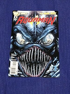 Aquaman #2 - The New 52 (December 2011, DC) Mint Condition, Fast Shipping!
