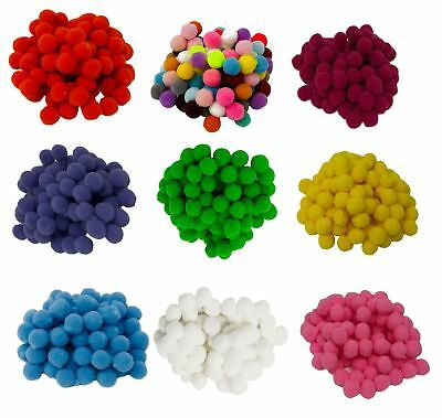 3 CM  Mixed Colour Pom Poms DIY Creative Crafts Kids Decorations Large Big