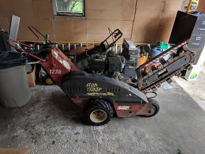 """Ditch Witch 1230 Trencher 36"""" Honda 11 hp"""