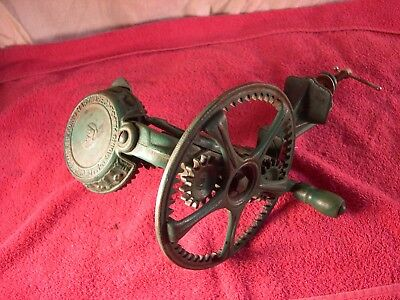 Antique Reading Hardware Co #78 Apple Peeler Reading, PA. Hardware Green color