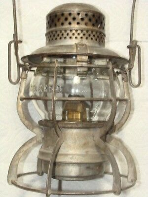 GREAT NORTHERN Railroad Lantern Antique Vintage GN Railway Armspear 1925 Kero Ry