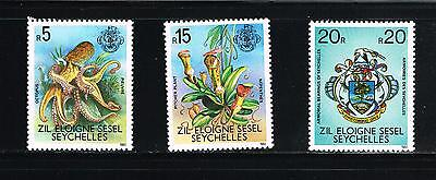 Seychelles stamps - MNH Scott #403F, G and H High Value Definitives