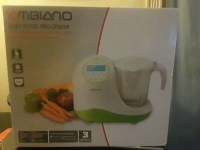 Ambiano Baby Food Processor and steamer