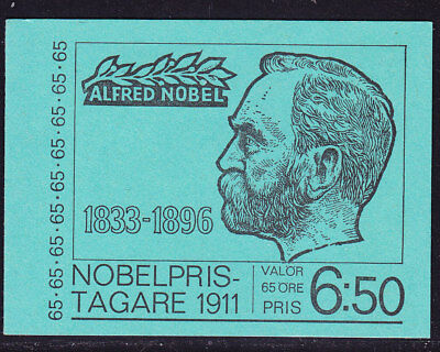 Sweden Booklet - 1971 65 Nobel Winners SB268 671a Complete