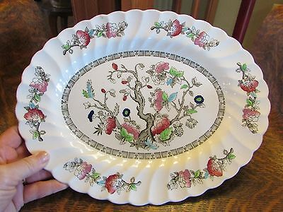 Myott Indian Tree Pattern Oval Serving Platter