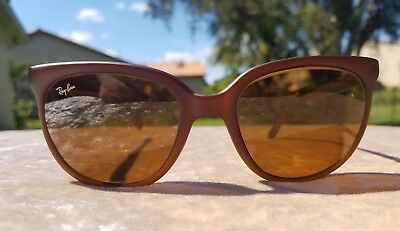 Vintage RAY BAN CATS Bausch   Lomb Brown Frame France Nylon Sunglasses Rare! 2cfb409a404a