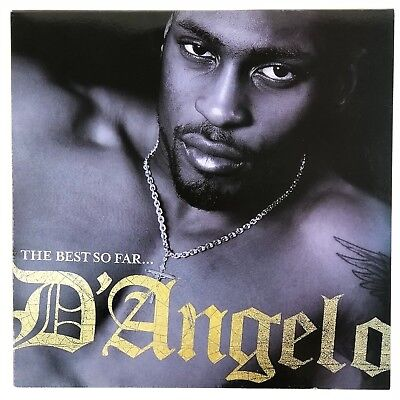 """D'Angelo - The Best So Far..  [2LP] Vinyl 12"""" 33 RPM Limited Edition Record 2008"""