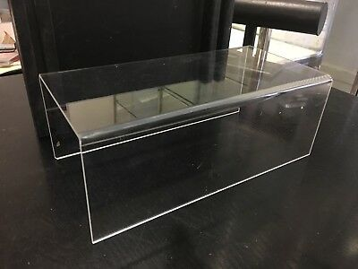 4 New Acrylic Riser Multi Purpose Stands for Shoes, Handbags or Figures