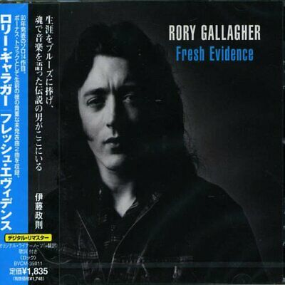 RORY GALLAGHER Fresh Evidence JAPAN CD BVCM-35011 1998 OBI
