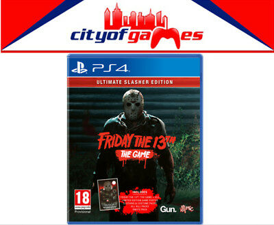 Friday the 13th The Game Ultimate Slasher Edition PS4 Game Brand New