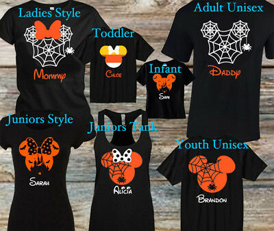 PERSONALIZED Disney inspired Halloween Vacation Family Shirts Mix and Matching
