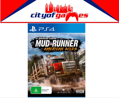 Spintires MudRunner America Wilds PS4 Game Brand New In Stock